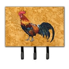 Rooster Leash Holder and Key Hook by Caroline's Treasures