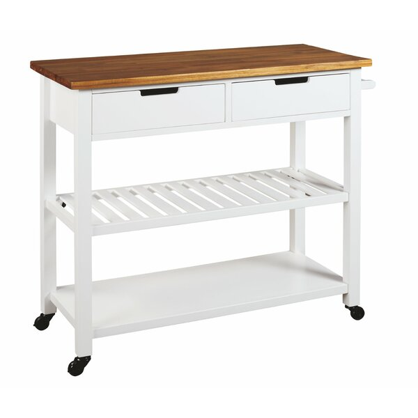 Wetmore Kitchen Cart by Winston Porter