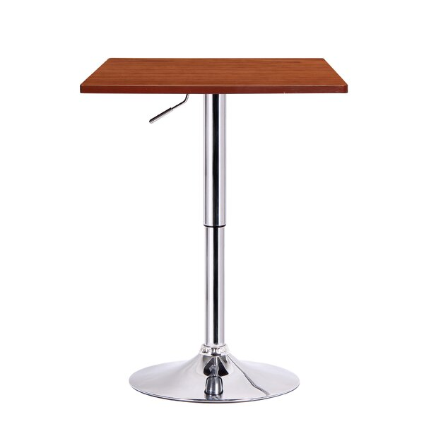 Luta Adjustable Height Pub Table by Boraam Industries Inc