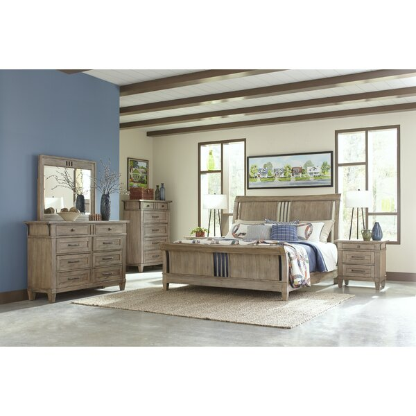 Ariel Sleigh Configurable Bedroom Set by Gracie Oaks