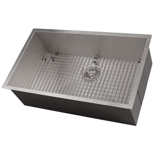 Zero Radius 28 L x 19 W Kitchen Sink