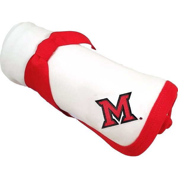 Miami Ohio RedHawks Baby Receiving Blanket by Future Tailgater