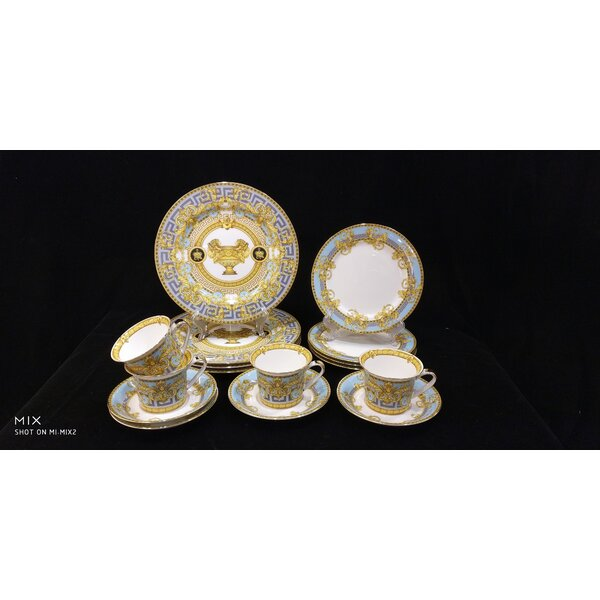SantaFe 16 Piece Bone China Dinnerware Set Service for 4 (Set of 4) by Astoria Grand