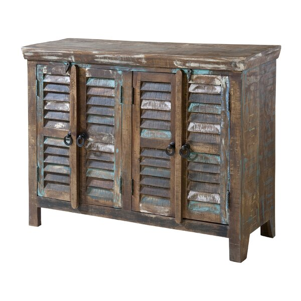 Lucilla 4 Door Accent Cabinet by World Menagerie