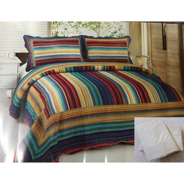 Oconner 7 Piece Reversible Quilt Set by Bloomsbury Market