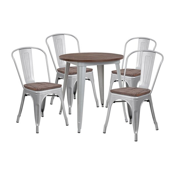 Mui 5 Piece Dining Set by Williston Forge