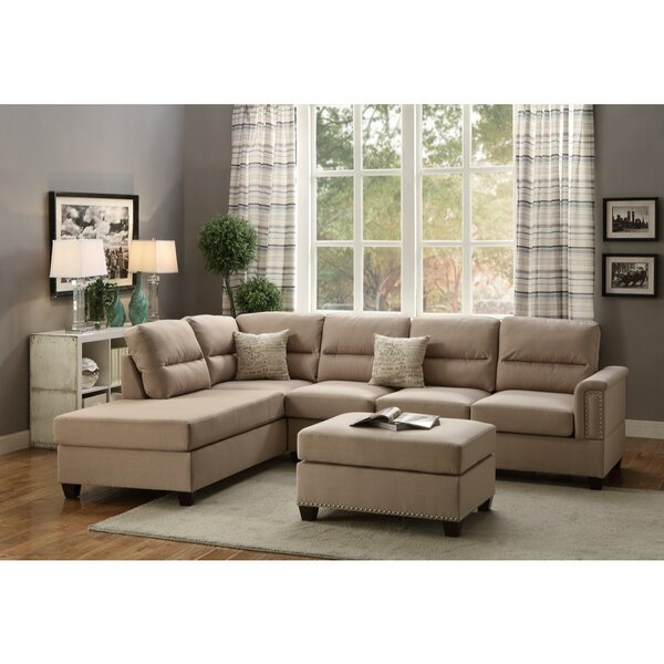 Dauby Reversible Modular Sectional by Latitude Run