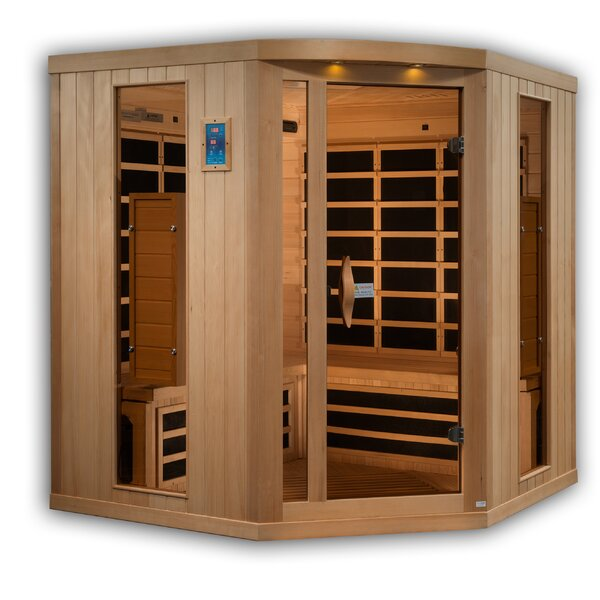 Full Spectrum 5 Person FAR Infrared Sauna by Golden Designs
