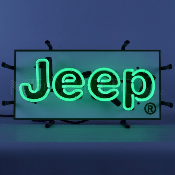 Jeep Junior Wall Light by Neonetics