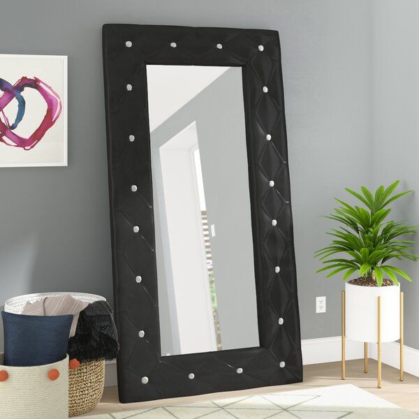 Briar Traditional Full Length Rectangle Floor Mirror by Willa Arlo Interiors