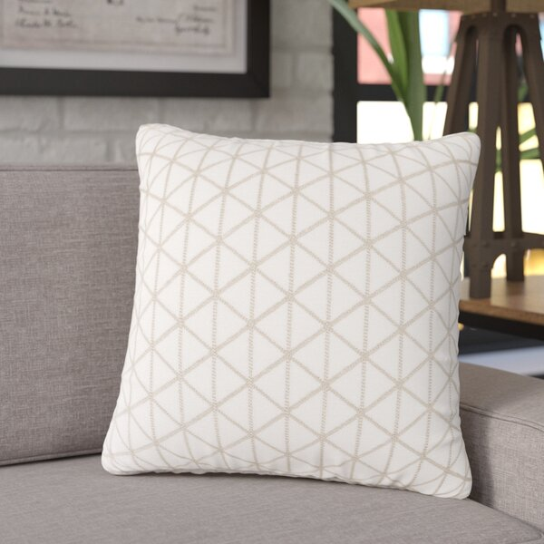Culbert Triangle Wool Throw Pillow by Williston Forge