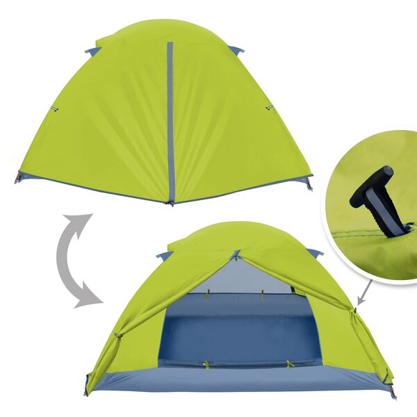 Portable 2 Person Backpacking Tent by Sunrise Outdoor LTD