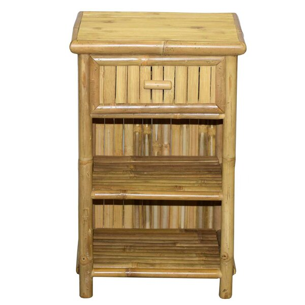 Farmingdale Slim 1 Drawer Nightstand by World Menagerie World Menagerie