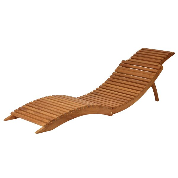 Quentin Teak Patio Chair by Millwood Pines