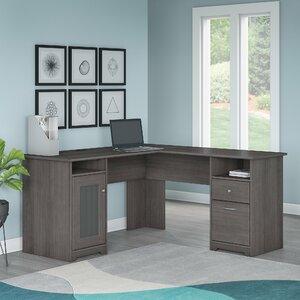 Hillsdale L-Shaped Executive Desk
