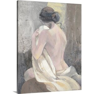 After the Bath II by Albena Hristova Painting Print on Wrapped Canvas by Great Big Canvas