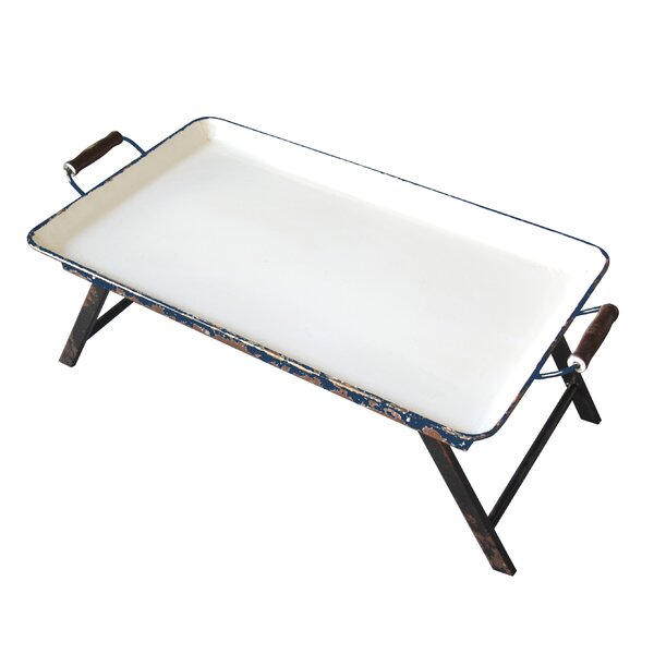 Staunton Metal Rectangular Tray Table by Laurel Foundry Modern Farmhouse