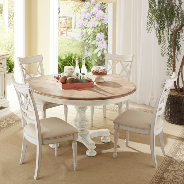 Allgood 5 Piece Extendable Dining Set by Highland Dunes