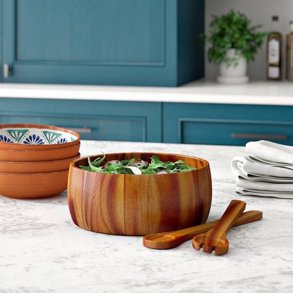 Jace 3 Piece Salad Bowl Set by Mint Pantry