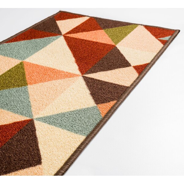 Chrisman Red Area Rug by George Oliver