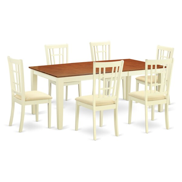 Pilger 7 Piece Dining Set By August Grove 2019 Sale