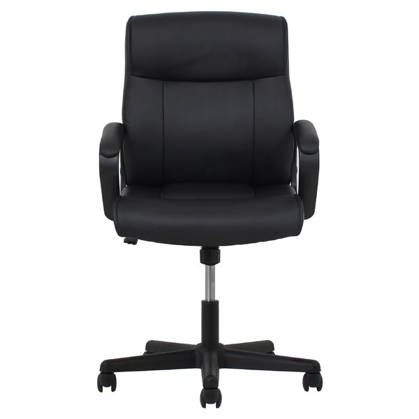Gilliland Leather Executive Chair by Andover Mills