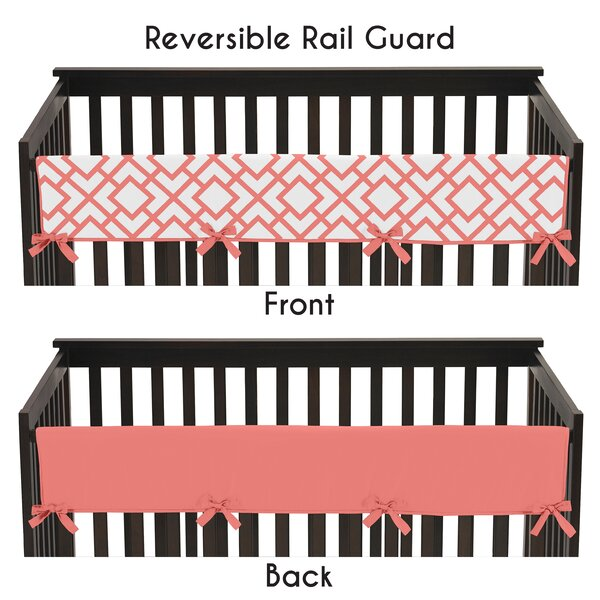 Mod Diamond Crib Rail Guard Cover by Sweet Jojo Designs