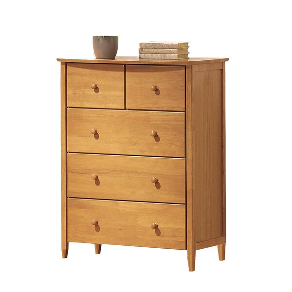 Scheffel 5 Drawer Chest by Harriet Bee