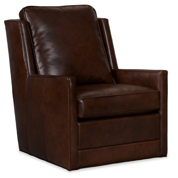 Keever Swivel 24.5 inch Club Chair by Hooker Furniture