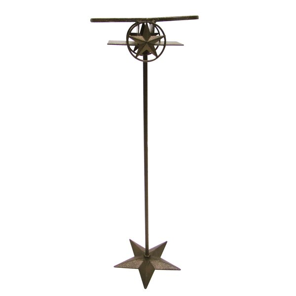 Horseshoe and Star Double Beverage Stand by Leigh Country
