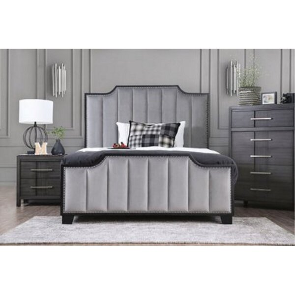 Mifflintown Queen Platform Solid Wood 5 Piece Bedroom Set by Ebern Designs Ebern Designs