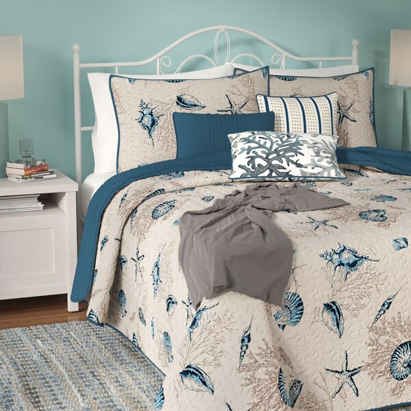 Southhampton Reversible Coverlet Set by Beachcrest Home