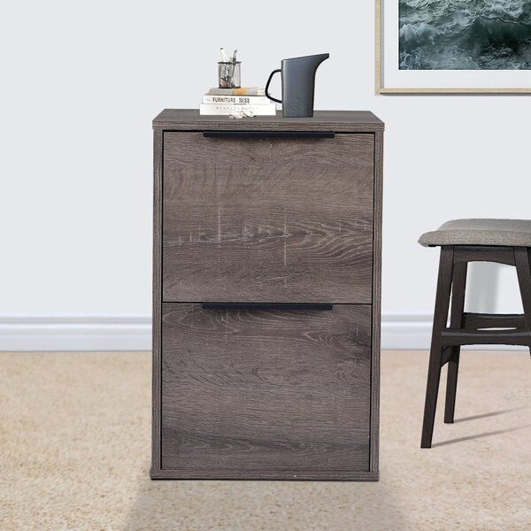 Lowrie 2 Drawer Vertical Filing Cabinet