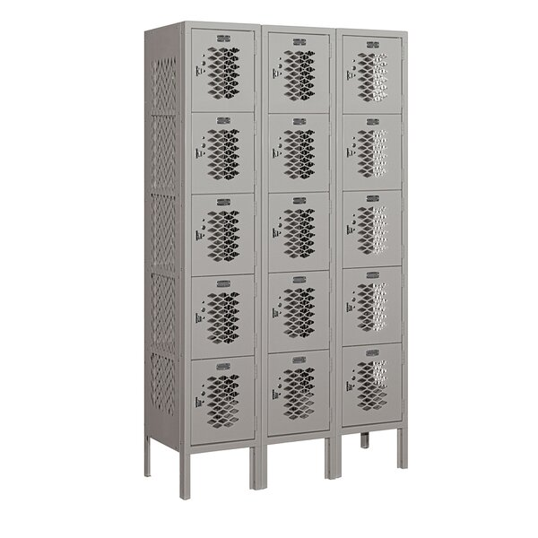5 Tier 3 Wide Employee Locker by Salsbury Industries
