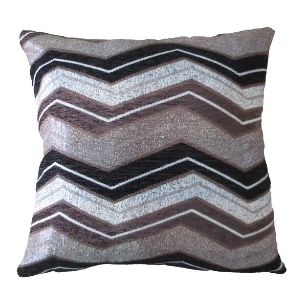 Indiana Chenille Luxurious Throw Pillow by Violet Linen