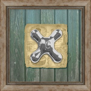 Cold Faucet Framed Graphic Art by PTM Images