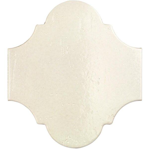 Appaloosa Arabesque 8 x 10 Porcelain Field Tile in Ibiza by Splashback Tile