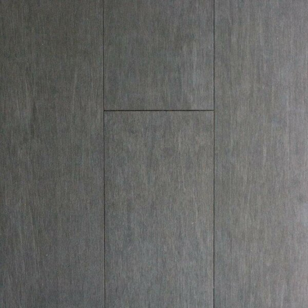 4-1/2 Solid Bamboo  Flooring in Mineral Gray by ECOfusion Flooring