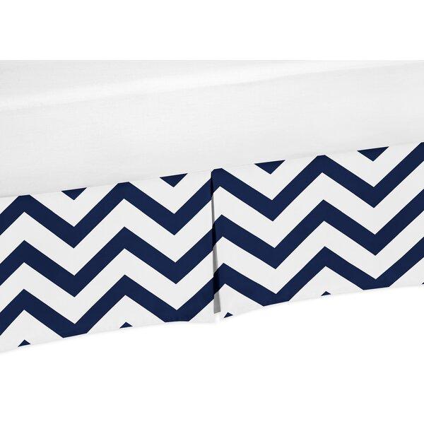 Chevron Crib Skirt by Sweet Jojo Designs