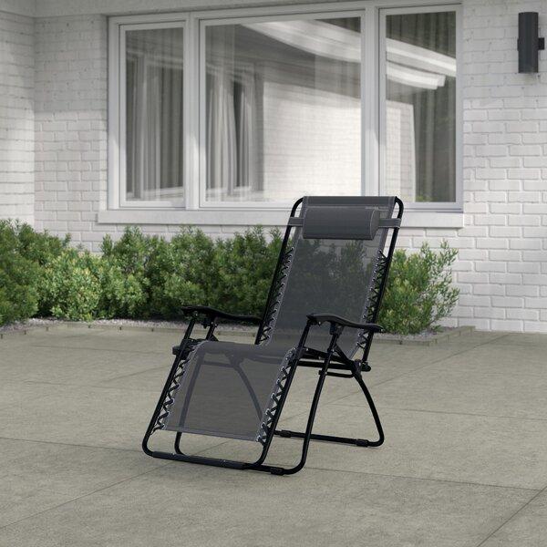 Winnett Reclining Zero Gravity Chair With Cushion (Set Of 2) By Zipcode Design