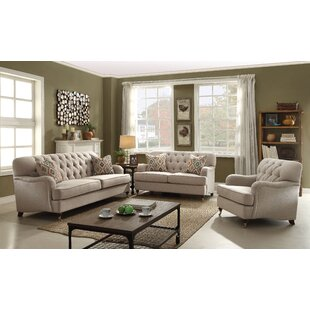 Howardwick 3 Piece Living Room Set by Canora Grey