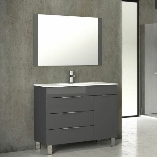 Lois 39 Single Bathroom Vanity Set by Orren Ellis