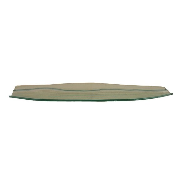 Glass Platter (Set of 4) by ESSENTIAL DÉCOR & BEYOND, INC
