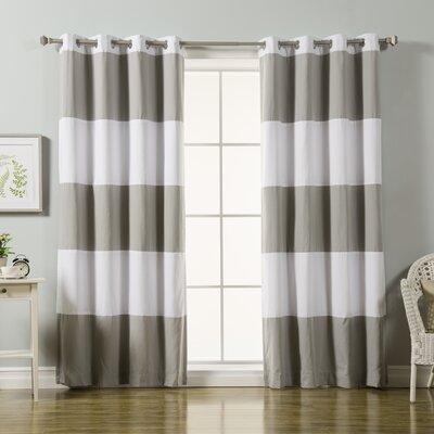 Modern & Contemporary Blackout Bedroom Curtains | AllModern