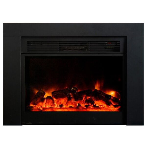 Honor Wall Mounted Electric Fireplace Insert By Latitude Run