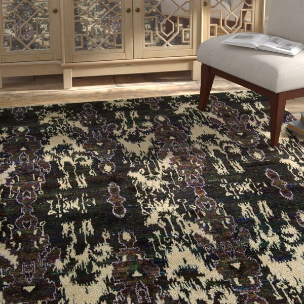 Pinos Modern Hand knotted Area Rug by Bloomsbury Market
