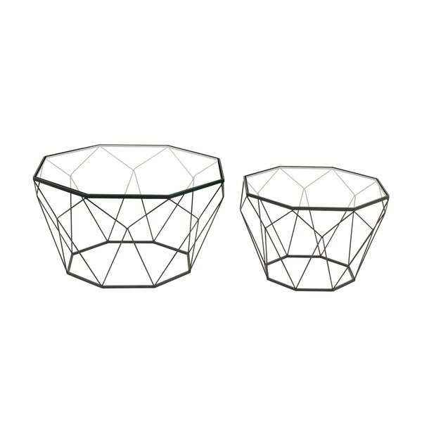 2 Piece Nesting Tables by Cole & Grey Cole & Grey