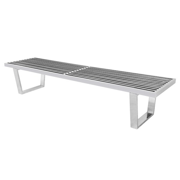 Inwood Metal Bench by LeisureMod