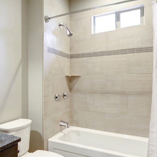 Lorinda Thermostatic Tub and Shower Faucet with Valve by Alcott Hill Alcott Hill