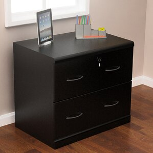 Locking Wood Filing Cabinets You'll Love | Wayfair